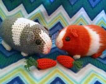 Crochet Chubby Guinea Pig