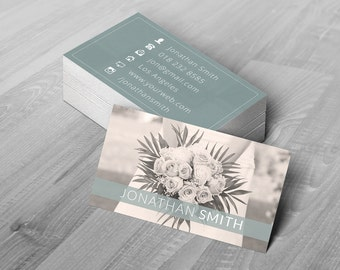 Business Card Template - Photoshop Templates for Photographers - B03