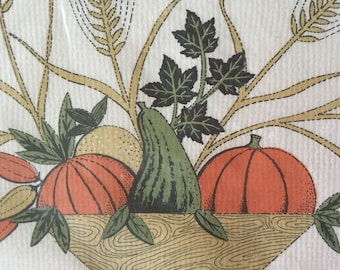 40 Vintage paper placemats Monogram of California Harvest themed  Paper craft