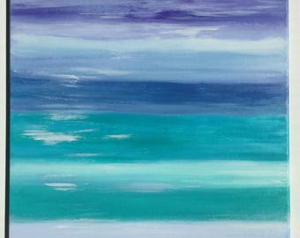 Beach Colors Acrylic paintings