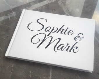 Personalised Guest Book - Modern Design