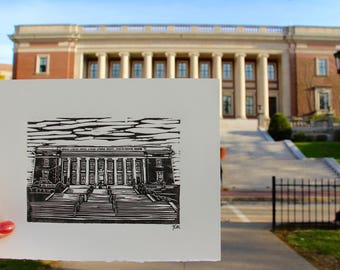 College of the Holy Cross Dinand Print