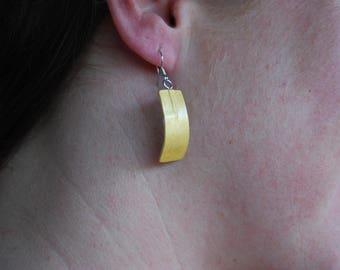 Dangle Drop, Dangle Earrings. Red Earrings, Yellow Earrings, Gold Earrings,Green Dangle and  Drop Earrings. Gift for her, Gift for women.