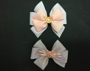 pretty Ribbon / hair pin