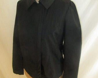 Jacket black size 40 Cotonniers counter to-65%
