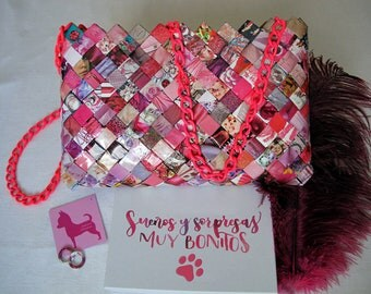 Handmade Purse (Pink)