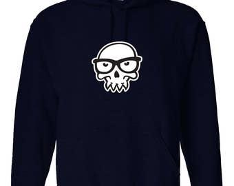 Skull Glasses Hoodie