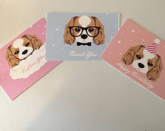 King Charles Cavalier Postcards