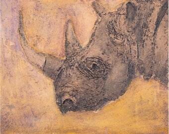 Rhino Print,Rhinoceros Print,Fine Art Print,Fine Art Animal Print,Rhinocerous Print,Wildlife Prints,African Prints,Animal Art Print,Rhino