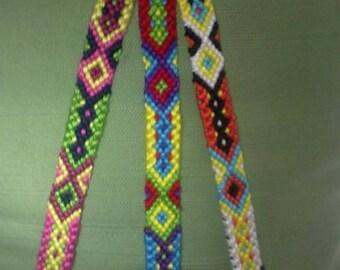 Friendship bracelet,Braided bracelet,Knotted bracelet, Handwoven bracelet,String bracelet, Bracelet bresilien, Friendship cuffs,Bohemian