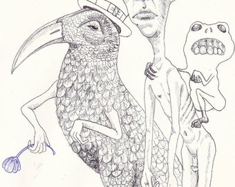 Three Kings (Postcard Print)