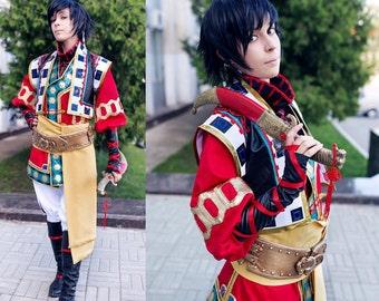 Thores Shibamoto Tengai no Pashluna cosplay costume