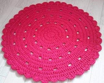 Floor Rug, Crochet Rug, Handmade Rug, Crochet Carpet, Gift, Area Rug, Homedecor Rug, Modern Rug, Doily Rug