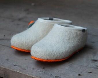 Handmade Felt boots from Russia