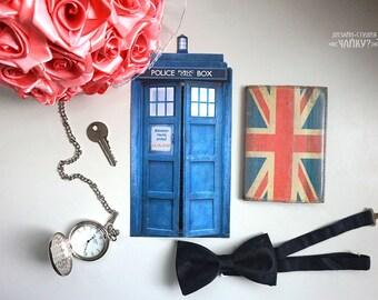 Wedding Invitation like a Doctor Who TARDIS
