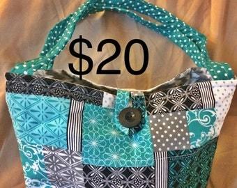shades of blue purse