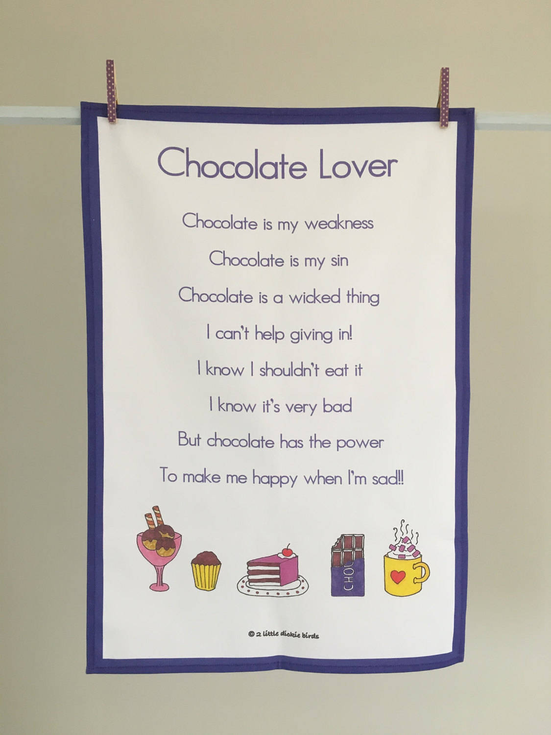 Easter gift chocolate lover tea towel tea towel kitchen towel easter gift chocolate lover tea towel tea towel kitchen towel kitchen gift negle Images