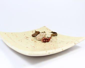 Tray sheet of travertine stone