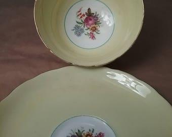 Copelands Grosvenor China England teacup and saucer