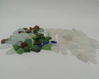 mini sea glass peices