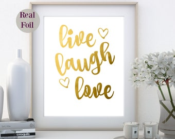 Gold Foil Print, Foil Quote print, Office Home wall art, foil Nursery print, Foil Art Print, foil print, gold foil, made in Australia