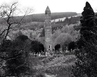 Round Tower, Glendalough, Co. Wicklow, Ireland