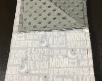 I love you to the moon and back with Gray Mink