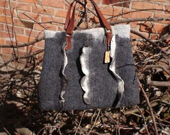 Felted bag / Валяная сумка