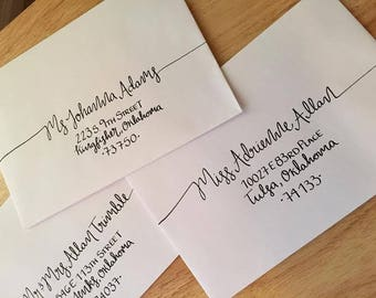 Bridgette/ Hand Addressed Envelopes