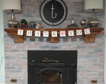 Thank You Banner, Wedding Banner, Wedding Photo Prop