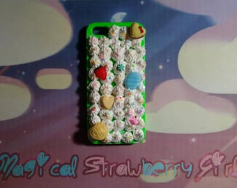 Kawaii Decoden Frosting iPhone 5/5s Case #2
