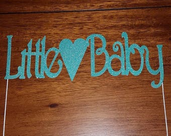 Little baby cake topper