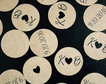 Wedding or Bridal Shower Heart Confetti decoration