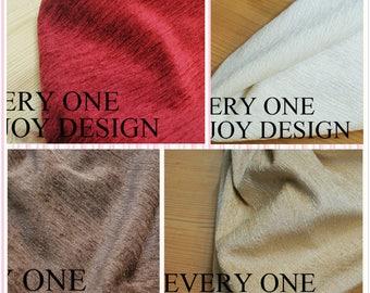 Elegant and Simple Style Cotton Flannel Window Curtains, Custom Drapery Panel