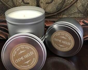 Creme Brûlée Soy Candle
