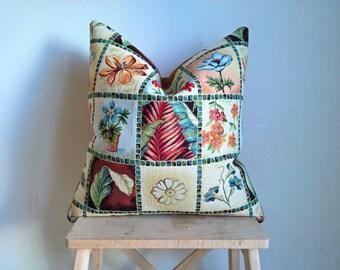 Farmhouse, rustic pillow cover, country home decor pillow case, outdoor pillow, throw pillow, spring decor, gifts for mom