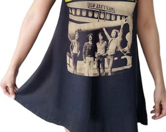 Led Zeppelin  Black dresses rock Metal  A-060