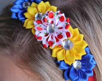 Snow White Inspired Headband