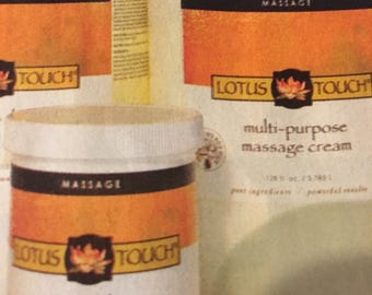 Lotus Touch Multi Purpose Massage Cream