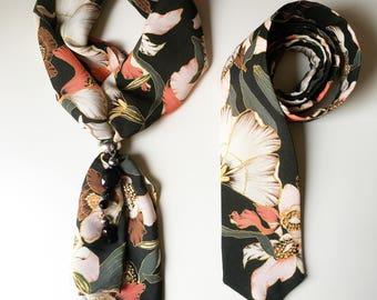 Scarf & tie