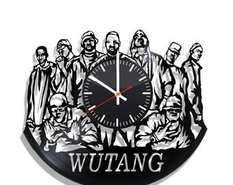 Wu-Tang Clan Wall clock with original design, Wu-Tang Clan poster