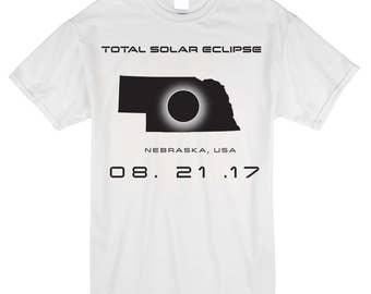 Total Solar Eclipse - Nebraska Shirt