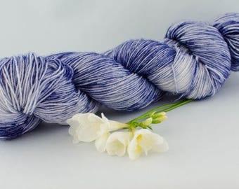 Blau-Hand dyed yarn