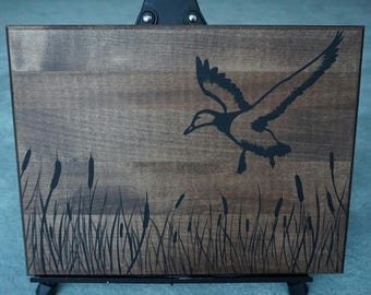 Silhouette Wood Plank