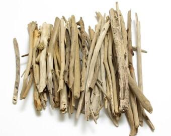 Bulk Driftwood 50 pcs, Driftwood for Crafts, Driftwood Art Pieces, Small Driftwood Pieces, Art Supplies, Sea Beach Finds #30