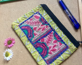 Beautiful Indian embroided wallet