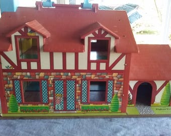 1974 Fisher Price Little People Home