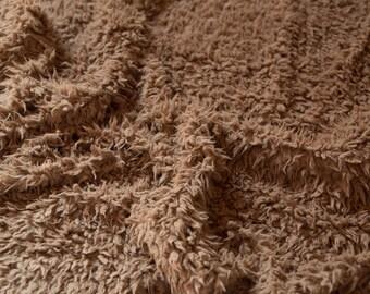 Camel rug blanket