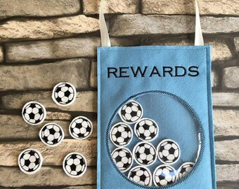 Football reward holder, machine embroidery design, Rewards jar, ITH, in the hoop, 4x4, 5x7, Football, Rewards,