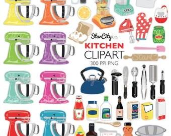 Kitchen clipart | Etsy | {Französische küche clipart 83}